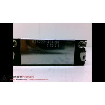 REXROTH Russia Japan R162221424 , BALL CARRIAGE RUNNER BLOCK, NEW #193232