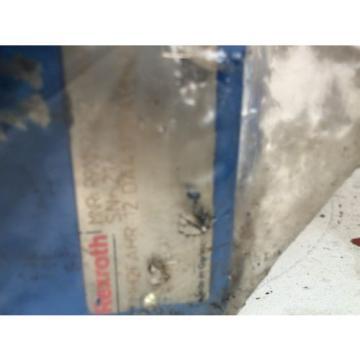 Rexroth Japan Canada Steuerblock Hydraulik Ventil MH2F AHR 12DA41 Stromteiler NG12 MENZI MUCK