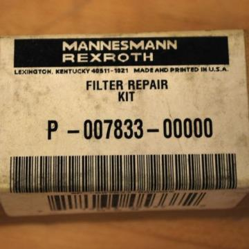 Rexroth Canada Russia P7833 5 Micron Filter Replacement Accessory. - NEW
