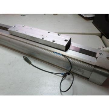 REXROTH Dutch Egypt RODLESS AIR CYLINDER - 40 bore x 370 - LINEAR ACTUATOR w/REED + FLOW sw