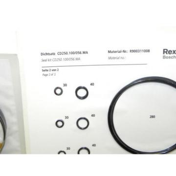 NIB Dutch Australia REXROTH BOSCH R900311008 SEAL KIT CD250.100/056.MA