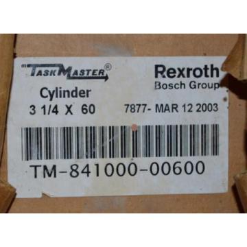 "NEW Greece Greece REXROTH 60"" STROKE PNEUMATIC AIR CYLINDER 3-1/4"" BORE TM-841000-00600"