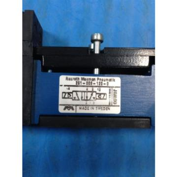 REXROTH Dutch Singapore MECMAN PNEUMATIK 261-009-120-0 PNEUMATIC VALVE 24VDC (U4)