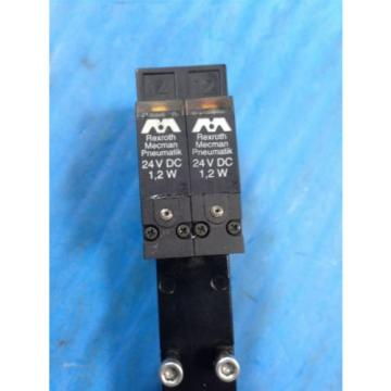 REXROTH Dutch Singapore MECMAN PNEUMATIK 261-009-120-0 PNEUMATIC VALVE 24VDC (U4)