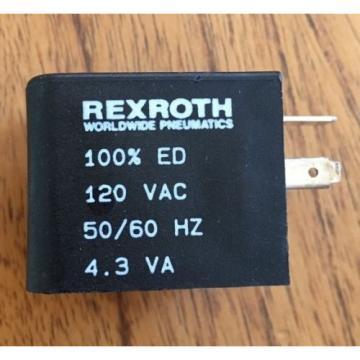NEW Canada USA Bosch Rexroth Pneumatic Coil 5428117072 R432011985 P-048835-00001 120VAC