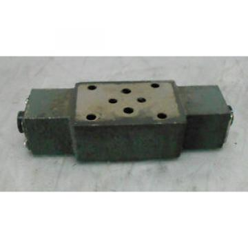 Uchida-Rexroth India Mexico Hydro Norma Z2FS 6-31 Solenoid Check Valve Base Block, Used