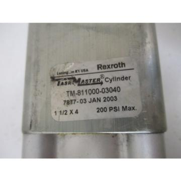 REXROTH Mexico USA TM-811000-03040 PNEUMATIC CYLINDER*USED*