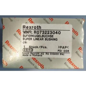 "Rexroth Egypt Canada Super Linear Bushing Model R073223040 1-1/4"" Bore 1-3/4"" OD NIB"