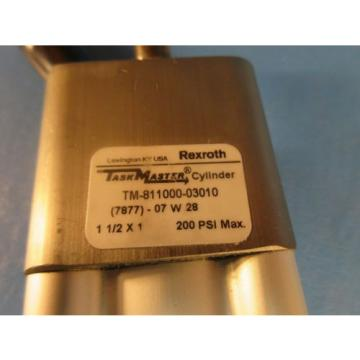 """Rexroth China Russia TM-811000-03010, 1-1/2x1 Task Master Cylinder, 1-1/2"""" Bore x 1"""" Stroke"""