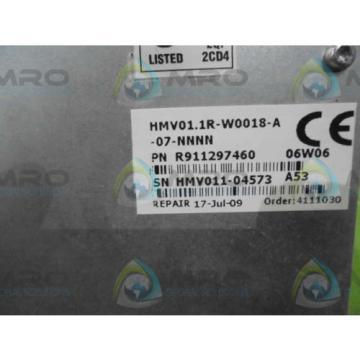 REXROTH Dutch Japan INDRADRIVE M HMV01.1R-W0018-A-07-NNNN *NEW IN BOX*