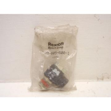 REXROTH Egypt Mexico BOSCH 540-605-600-1 NEW FITTING 1206 5406056001
