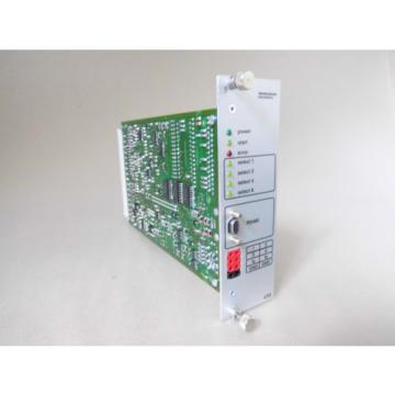 Digitale Russia Canada Sollwertkarte/Ramp Generator  Rexroth VT-SWKD-1-12a/V0/0 (Hydraulik)