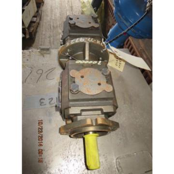 Rexroth Germany Greece Hydraulic Gear Pump P2GH4/080+GH4/063RE07+R07E4  Double Pump R901108530