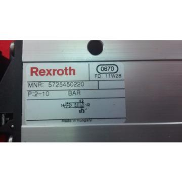 REXROTH USA Germany 5725450220