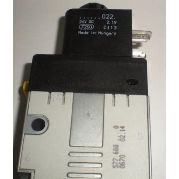 ELECTRICAL Dutch France SOLENOID VALVE BOSCH REXROTH 577-608-0220 24V DC COIL NEW