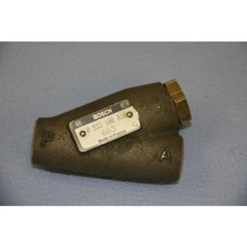 Bosch USA china Rexroth 2 Wege Stromregelventil 0533100010 RAR  max. 210 bar Ventil Magnet