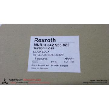 REXROTH France India 3 842 525 822 DOOR LOCK, NEW #137628