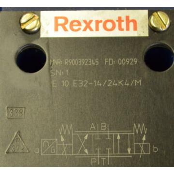 Rexroth Canada Germany 4 WRE 10 E32-14/24K4/M Poroportional Ventil R900392345