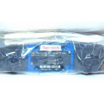 NEW USA India REXROTH R9005523321 CONTROL VALVE 4WE6D62/OFEW110N9K4