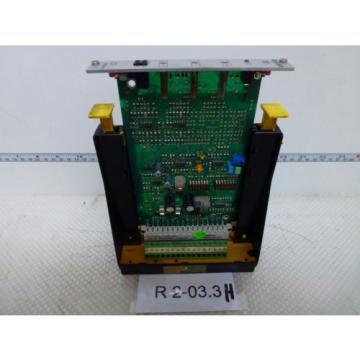 REXROTH Korea France VT-VSPA1-1-11 D/V0/0, Mat No. R900033823 incl. Murr holder free delivery