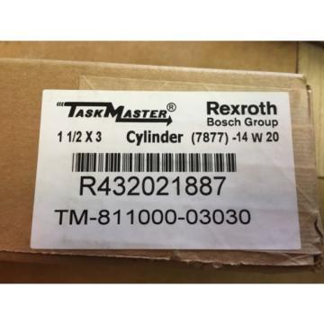 """Rexroth Korea Mexico TM811000-3030 Taskmaster 1.5"""" x 3"""""""