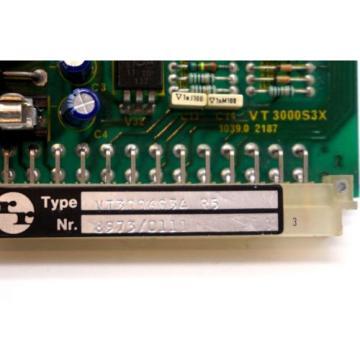 REPAIRED Korea Canada REXROTH VT3006-S34-R5 AMPLIFIER BOARD VT3006S34R5