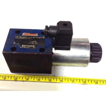 REXROTH Singapore Canada HYDRAULIC DIRECTIONAL VALVE R900589933 / 4WE10D33/CG24N9K4 99108