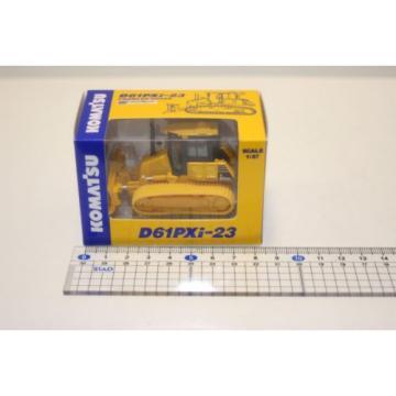 KOMATSU 1:87 WA380-8 WHEEL LOADER  PC210LCi-10 EXCAVATOR D61PXi-23 JAPAN Limited