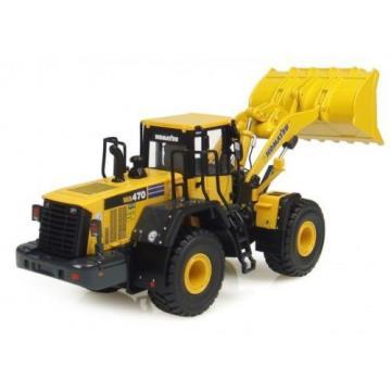 UH8001 Universal Hobbies Komatsu WA 470/7 Construction Machine 1/50 Diecast