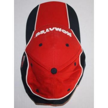 Komatsu Tractors Equipment USA Flag Strapback Hat Cap