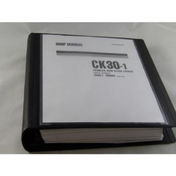 Komatsu CK30-1 Crawler Skid-Steer Track Loader Shop Repair Service Manual