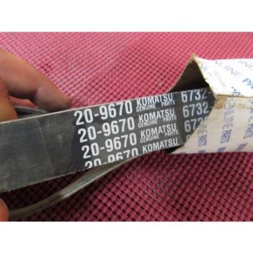 NEW GENUINE KOMATSU ENGINE BELT PART # 6732-81-3391