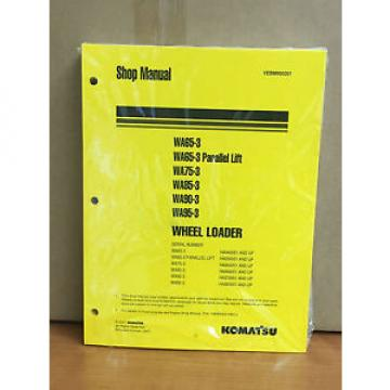 Komatsu WA65-3,WA75-3,WA85-3,WA90-3,WA95-3 Wheel Loader Shop Service Manual