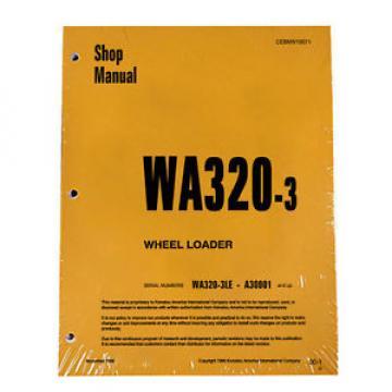 Komatsu WA320-3 Wheel Loader Service Repair Manual #2