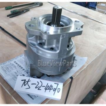 Pilot Gear pump 705-22-44070 for Komatsu Wheel loader WA500-3,WF550-3D equipment