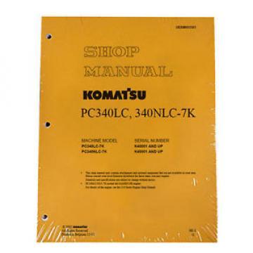 Komatsu PC340LC-7K, PC340NLC-7K Service Manual
