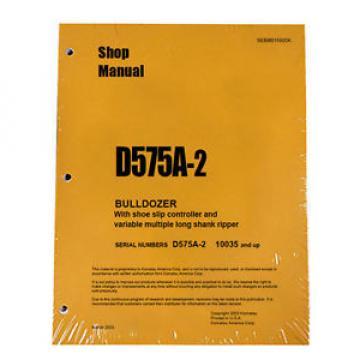 Komatsu D575A-2 Service Repair Workshop Printed Manual #2