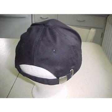 Komatsu Cloth Hat Black White Baseball Stitched Cap Heavy Equipment