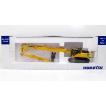 KOMATSU PC450LC LONG BOOM DEMO EXCAVATOR - 1:50 Scale by Universal Hobbies