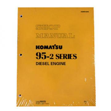 Komatsu Service Diesel Engines 95-2 Series Shop Manual