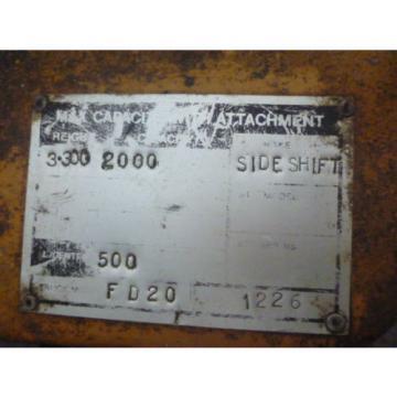 KOMATSU FD20-7 SIDESHIFT FORKLIFT INC VAT