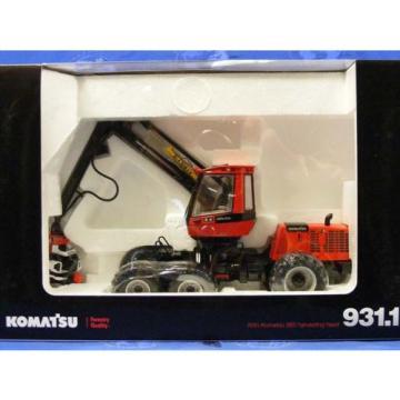 First Gear Komatsu 931.1 - Logging Harvester 1:35 Die-cast New MIB