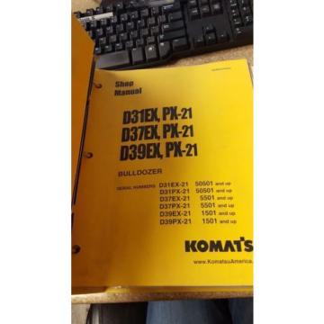 Komatsu D31EX, PX-21 & many more Shop Manual