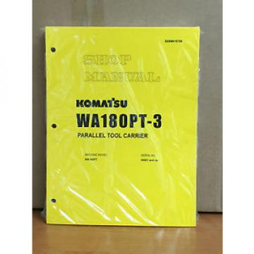 Komatsu WA180PT-3 Parallel Tool Carrier Wheel Loader Shop Service Repair Manual