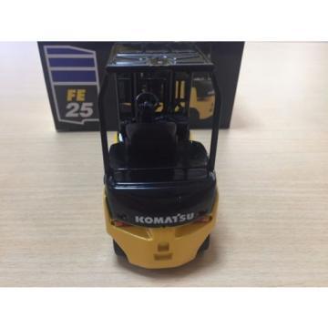 1/24 Komatsu FE Series FE25-1 Forklift Truck Pull-Back Car not sold in stores