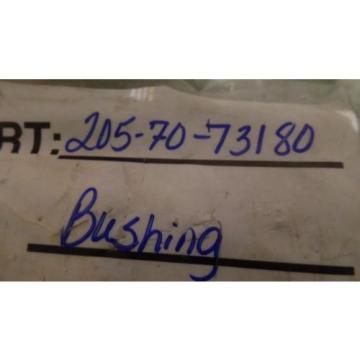 GENUINE KOMATSU PARTS 205-70-73180 BUSHING ASSEMBLY, 2057073180, N.O.S
