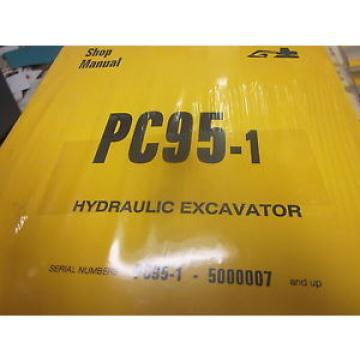 Komatsu PC95-1 Hydraulic Excavator Repair Shop Manual