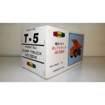 RARE DIAPET KOMATSU HD1200M DUMP TRUCK, LOADING SHOVEL EXCAVATOR CONRAD NZG