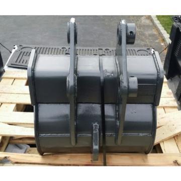 "NEW 24"" KOMATSU PC50MR-2 HD MINI EXCAVATOR BUCKET W/ ESCO SUPER V TEETH"