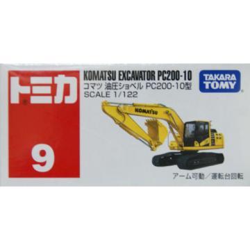 Tomy Tomica 9 KOMATSU EXCAVATOR PC200-10 439172